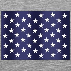 Stars and Stripes - Herre premium T-shirt