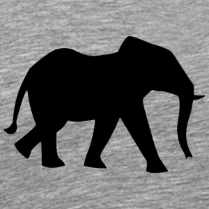 elefant - Premium T-skjorte for menn