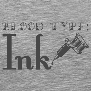Tattoo / Tätowierung: Blood Type - Ink - Männer Premium T-Shirt
