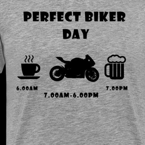 Perfect day street black - Männer Premium T-Shirt