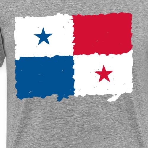 Panama Flagge - Männer Premium T-Shirt