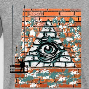 Graffity facade - Men's Premium T-Shirt