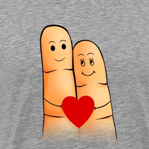 You + Me = Love - Men's Premium T-Shirt