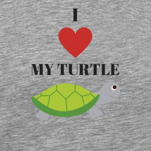 Turtle - Premium T-skjorte for menn