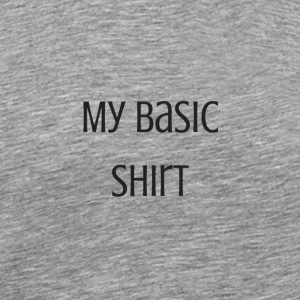 My basic shirt - Men's Premium T-Shirt