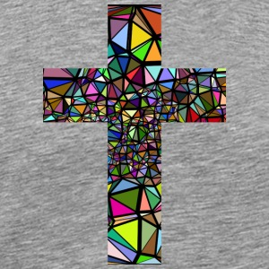 JESUS ​​CHRIST CROSS T-SHIRT - Men's Premium T-Shirt