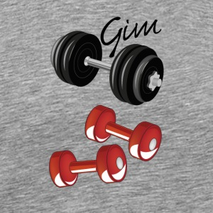 gym - Herre premium T-shirt
