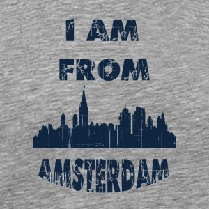 aMSTERDAM I am from - Men's Premium T-Shirt