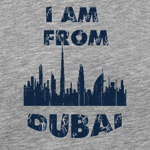Dubai I am from - Men's Premium T-Shirt