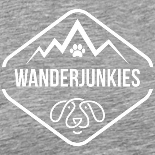 Wandern mit Hund - Männer Premium T-Shirt