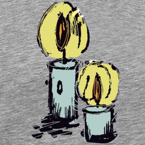 JhR - Torches - Männer Premium T-Shirt