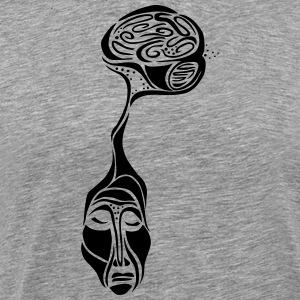 outofmyhead - Herre premium T-shirt