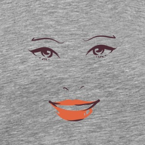 Smile fo Woman 01 - Men's Premium T-Shirt