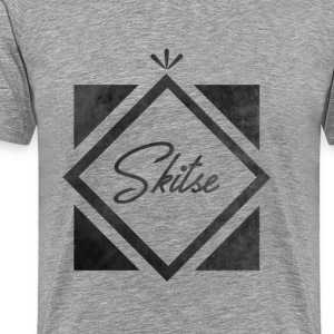 T-shirt diamond Skitse - Men's Premium T-Shirt