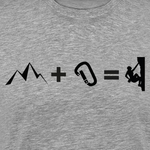 Klettern Addition - Männer Premium T-Shirt