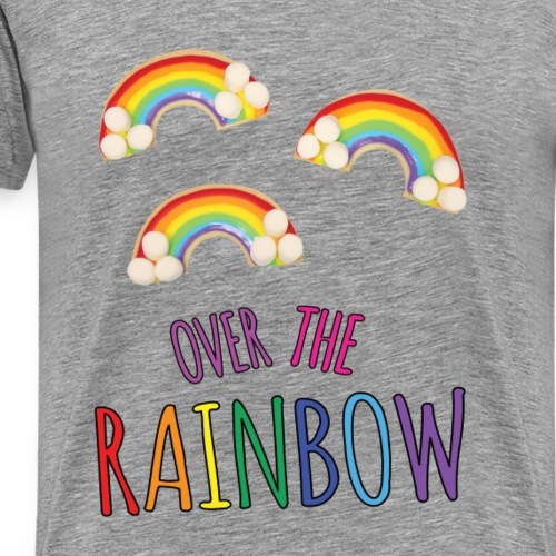 OVER THE RAINBOW - T-shirt Premium Homme