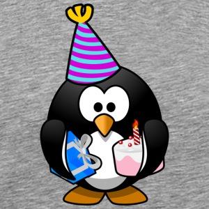 Happy Birthday Pinguin - Männer Premium T-Shirt