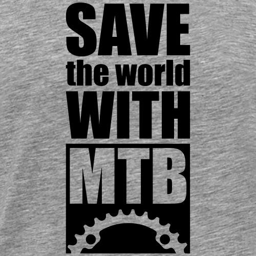 save the world - Männer Premium T-Shirt