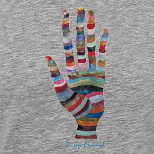 La mano 3 - Camiseta premium hombre