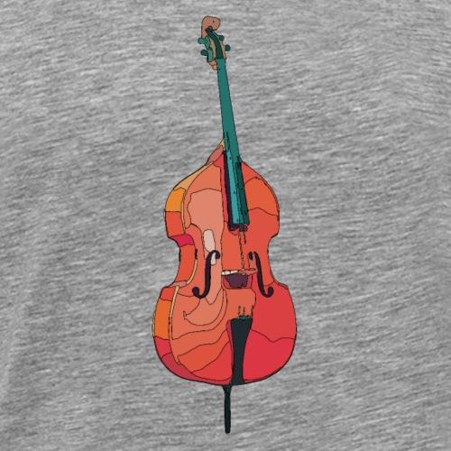kontrabass1 - Männer Premium T-Shirt