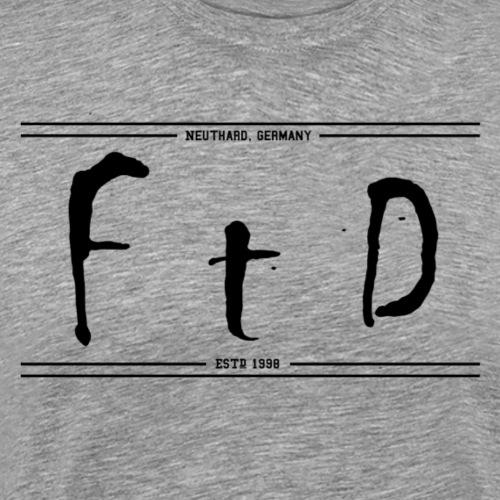 FTD Oldschool - Männer Premium T-Shirt