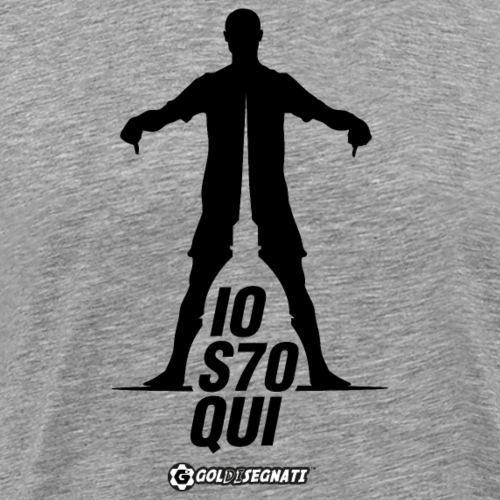 IOS7OQUI - Maglietta Premium da uomo