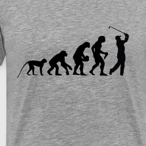 Evolution golfers - Men's Premium T-Shirt