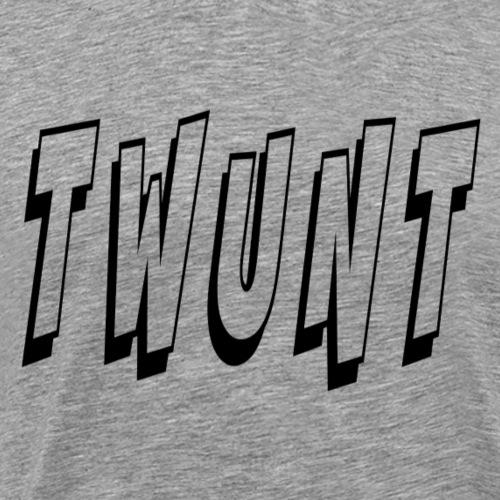 Twunt - Men's Premium T-Shirt
