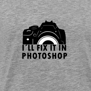 Ik fix it in Photoshop - Mannen Premium T-shirt