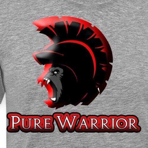 Pure Warrior Spartan - Men's Premium T-Shirt