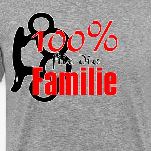 100Prozent Familie - Männer Premium T-Shirt