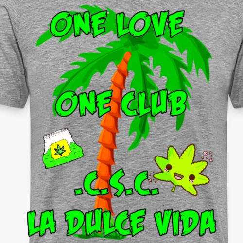 one love , one club - Männer Premium T-Shirt