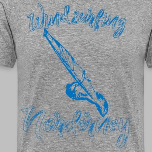 Windsurfing Norderney - Männer Premium T-Shirt
