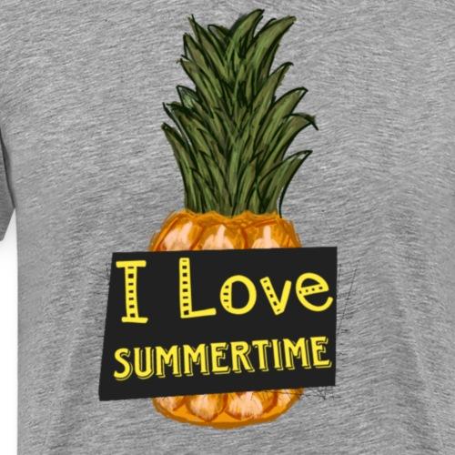 I love summertime - Mannen Premium T-shirt