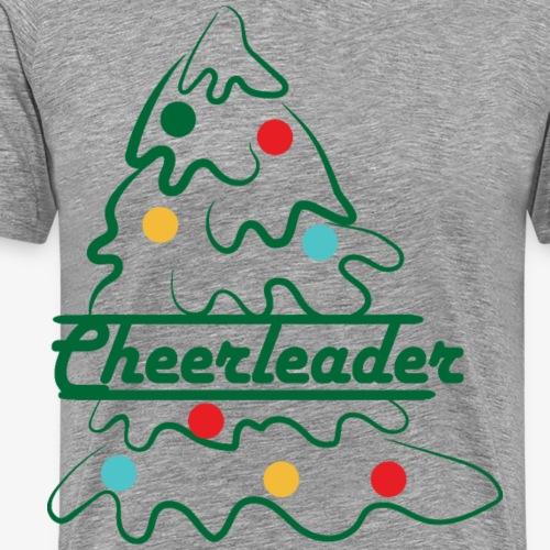 Cheerleader Baum - Männer Premium T-Shirt