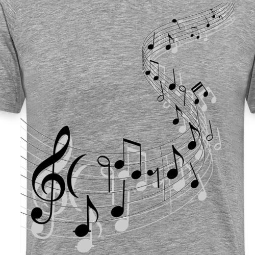 Musik Noten Musiker NEW DESIGN 2020 - Männer Premium T-Shirt