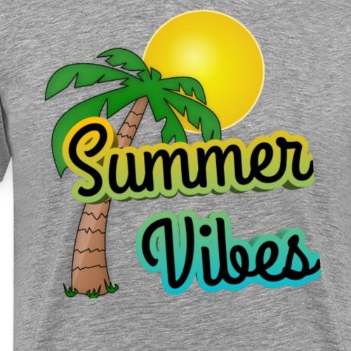 Summer Vibes - Mannen Premium T-shirt