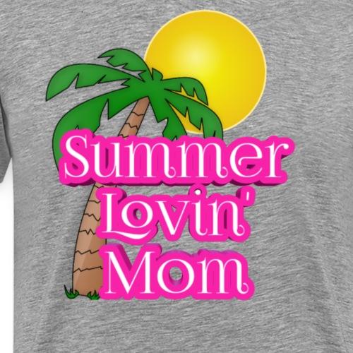 Summer lovin' mom - Mannen Premium T-shirt
