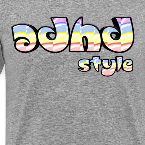 Adhd style - Mannen Premium T-shirt