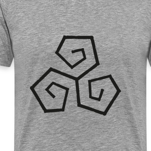 Triskele - Men's Premium T-Shirt