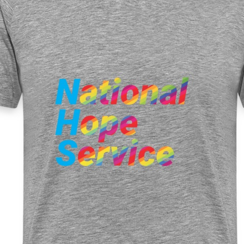 National Hope Service Rainbow - Men's Premium T-Shirt