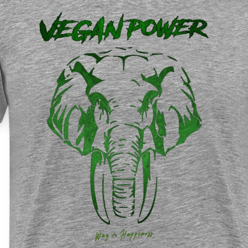 VEGAN POWER - T-shirt Premium Homme