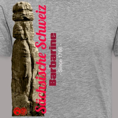 Sächsische Schweiz - Barbarine - Männer Premium T-Shirt