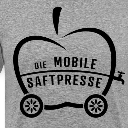 Die Mobile Saftpresse (schwarz) - Männer Premium T-Shirt