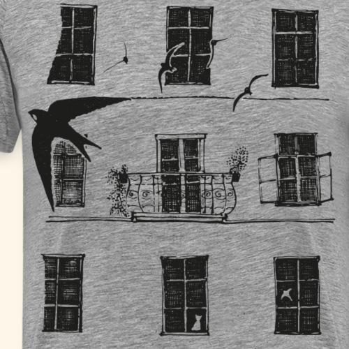 Mauersegler - Männer Premium T-Shirt