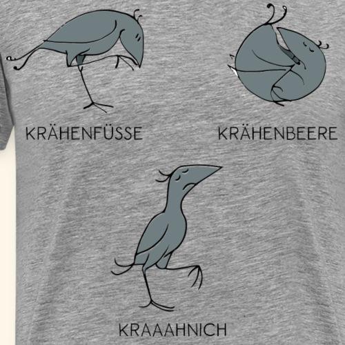 Krähe_Kraaahnich - Männer Premium T-Shirt