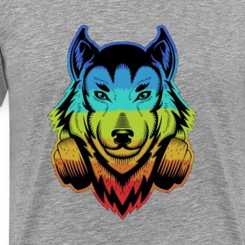 Retro style,Hund ,Schäferhund , LIMITED EDITION - Männer Premium T-Shirt