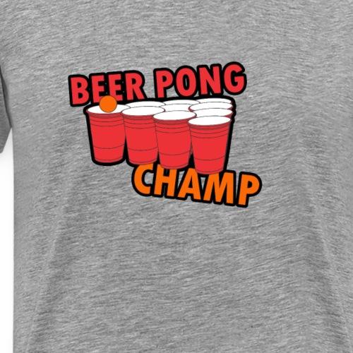 Beer Pong Champion - Männer Premium T-Shirt