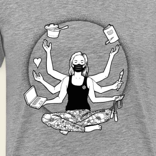 Lockdown: Ich schaffe das! - Männer Premium T-Shirt