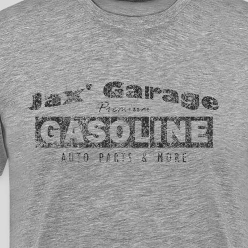 Jax Garage Premium Gasoline Dark - Männer Premium T-Shirt